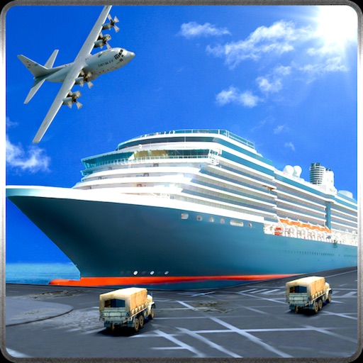 3D Cargo Ship Car Transporter Simulator 2017