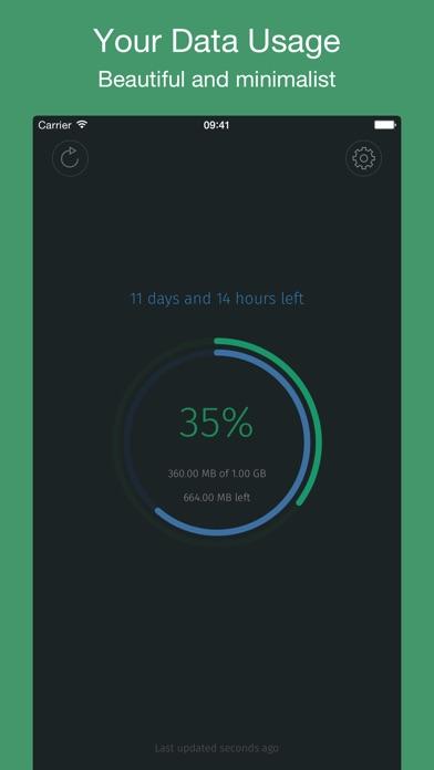 MobileData - Mobile data usage Screenshots