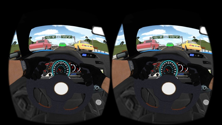 Driving in Car VR screenshot-3