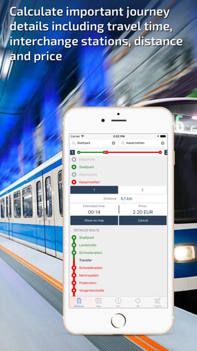 Vienna U-Bahn Guide and Route Planner screenshot three