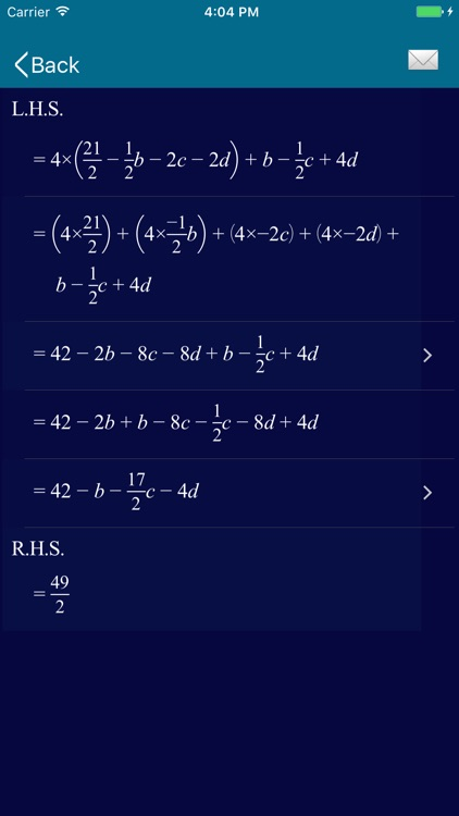 Math Equation Solver - ESolver screenshot-4