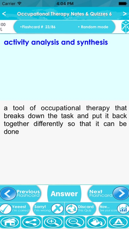 Occupational Therapy Exam Review : Quiz & Concepts screenshot-3