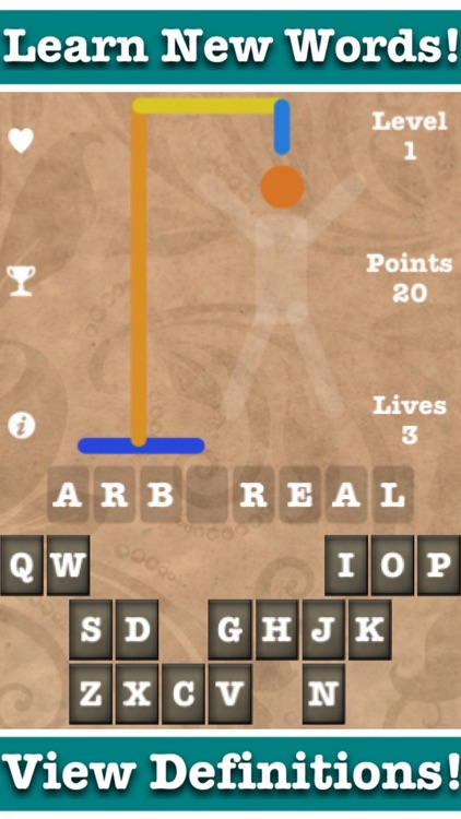 Hangman 44k: The Ultimate Hang Man Challenge Game