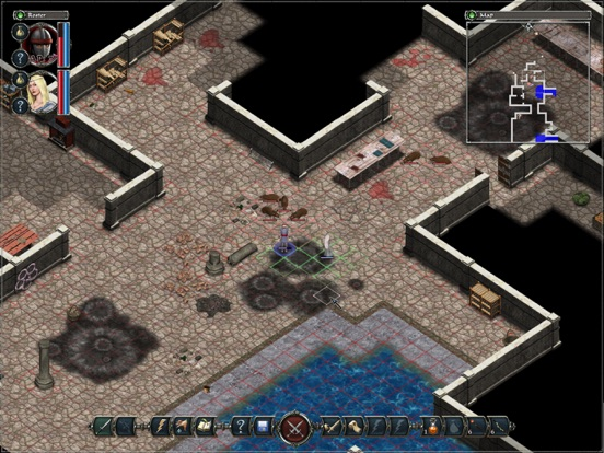 Screenshot #4 pour Avadon: The Black Fortress HD