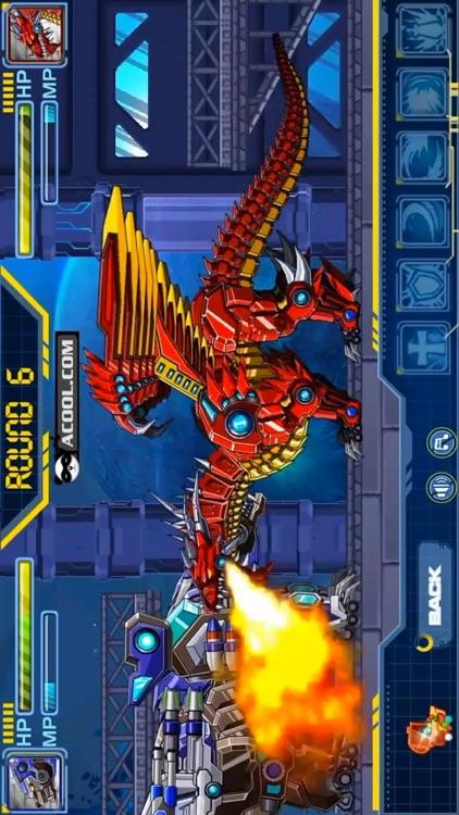 Robot Skeleton Dragon Assemble By Qingqing Wang