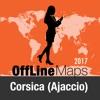 Corsica (Ajaccio) mapa offline y guía de viaje