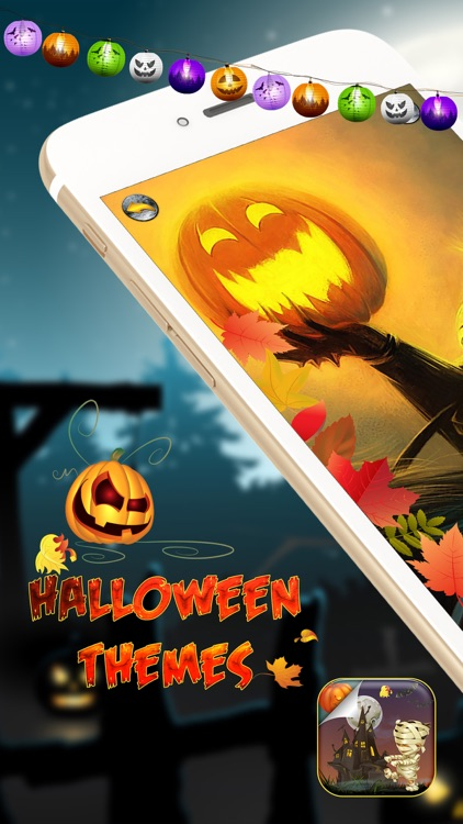 Halloween Home Screen Themes