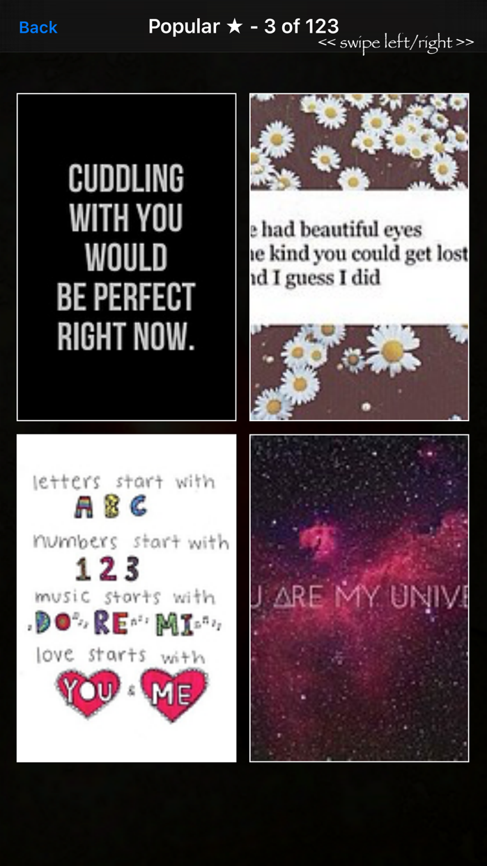 "Love Quotes"" - Daily Photos, Sayings, & Wallpapers Screenshot"