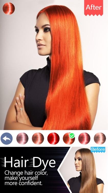 Hair Dye-Wig Color Changer,Splash Filters Effects