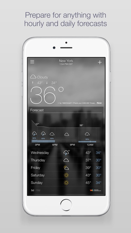 Yahoo Weather screenshot-2