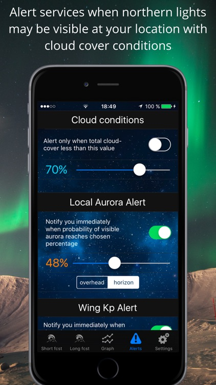 Northern Lights Forecast & Aurora Borealis Alerts screenshot-3