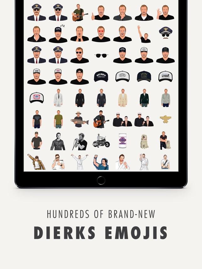 Dierks Bentley Lyric Keyboard + Emojis Screenshot