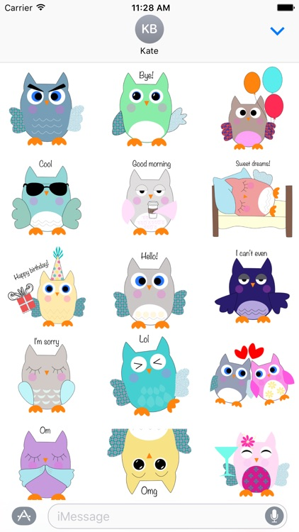 Owl World Stickers screenshot-1