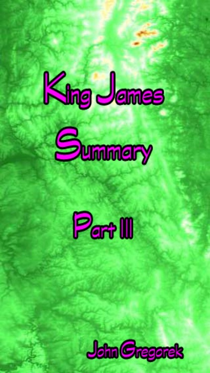 Summary King James Bible (part 3)