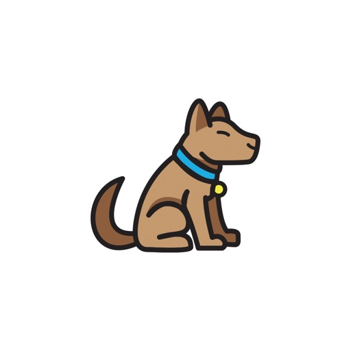 AWW Dog Stickers for iMessage