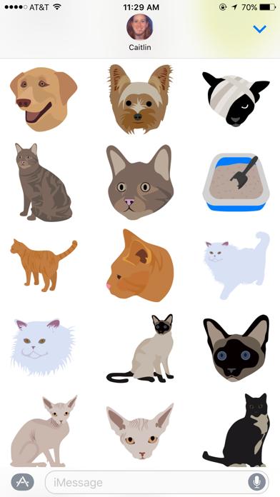 Vetmoji Sticker Pack screenshot three