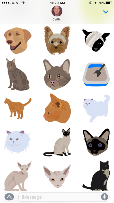 Vetmoji Sticker Pack screenshot three