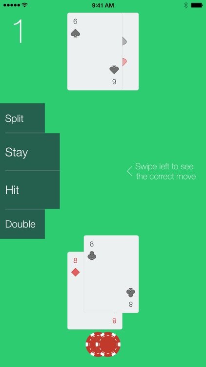 The Red Ace - Blackjack Card Counting Trainer