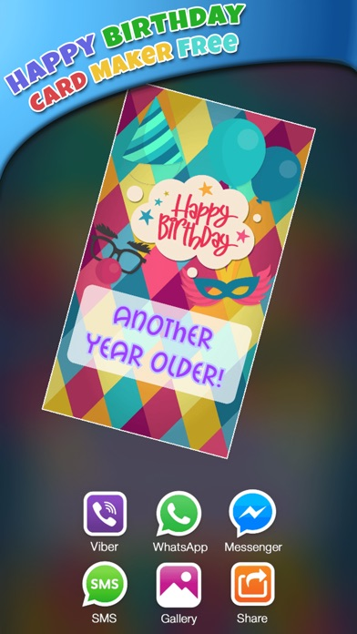 Screenshot 3 For Happy Birthday Card Maker Free Bday Greeting Cards