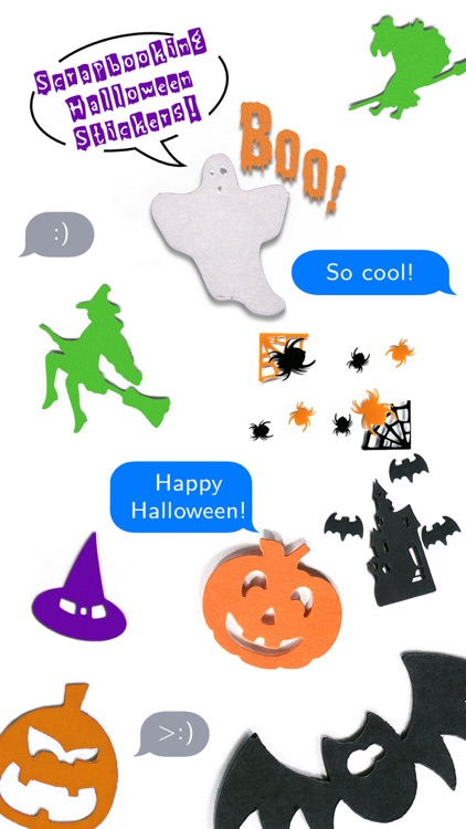 Halloween Scrapbook Stickers