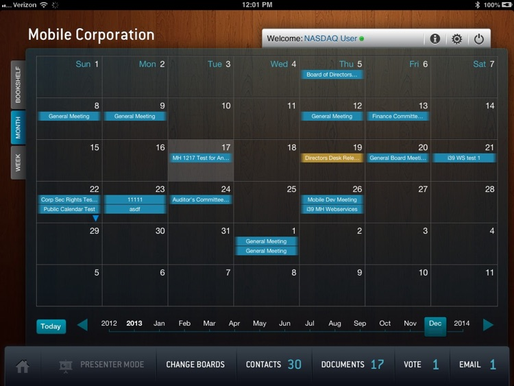 Nasdaq Directors Desk screenshot-4