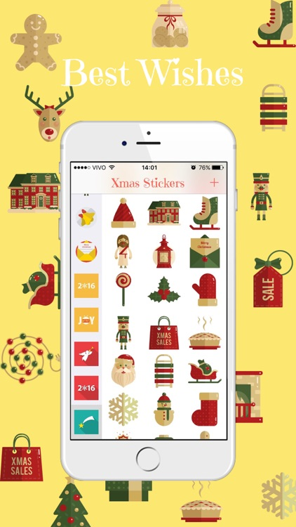 Xmas Stickers - Christmas Moji for iMessage screenshot-3