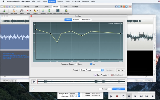 WavePad Audio Editor Free on the Mac App Store