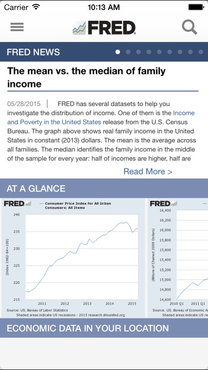 FRED Economic Data screenshot-0