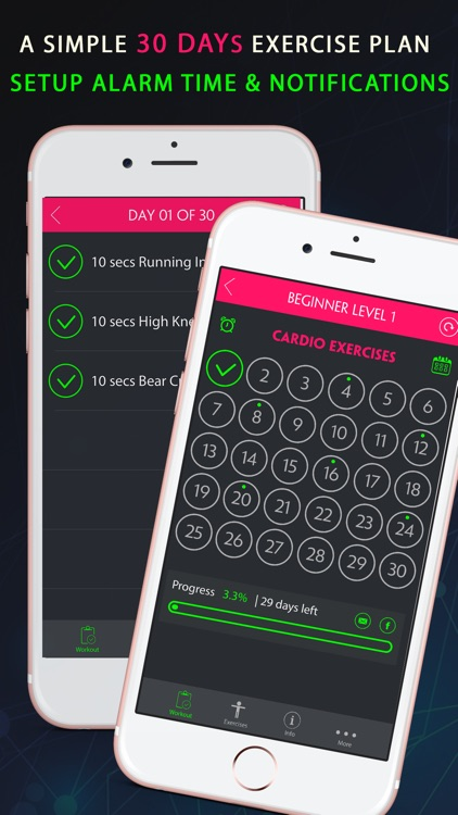 30 Day Cardio Fitness Challenges Pro screenshot-3
