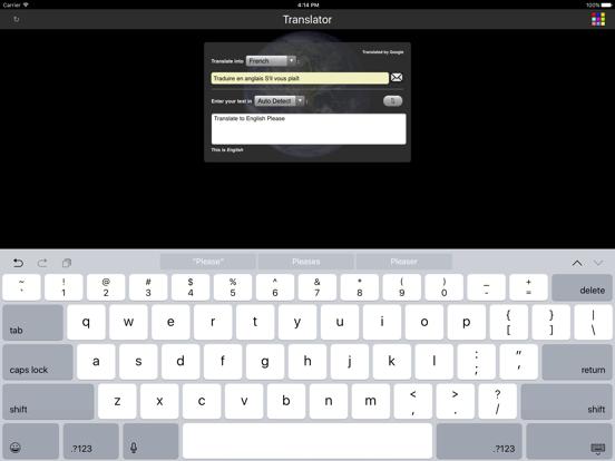 Language Translator screenshot