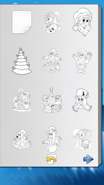 Christmas Coloring Book! screenshot-4
