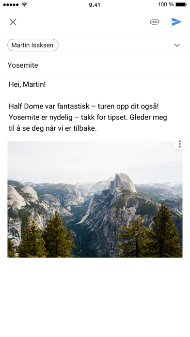 Screenshot for Gmail – e-post fra Google in Norway App Store