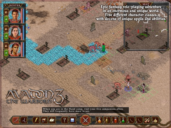Screenshot #4 for Avadon 3: The Warborn HD