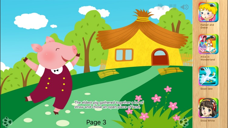 Three Little Pigs  Bedtime Fairy Tale iBigToy screenshot-3