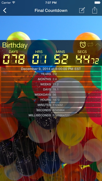 Final Countdown Timer screenshot-1