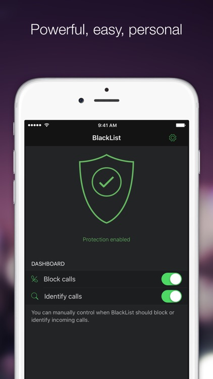 BlackList PRO: call blocker