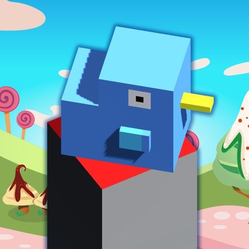 Cube Jump blade runner fall down games
