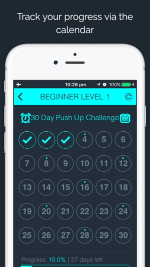 30 Day - Push Up Challenge on the App Store
