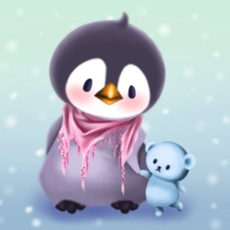 Penguin Bo Winter Bird Stickers for Text Messages