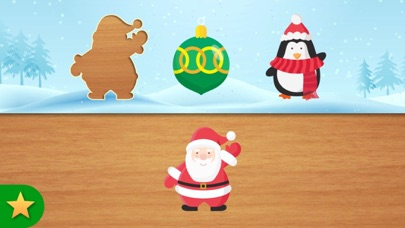 Christmas Puzzles for Kids Learning, Smart Baby + screenshot one