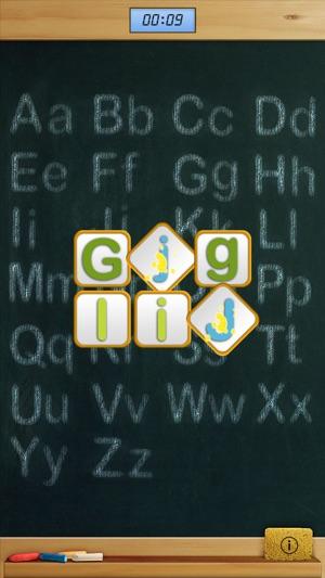 Aa match preschool alphabet HD