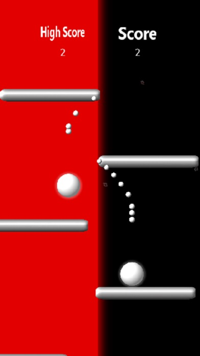 White Balls Screenshot on iOS