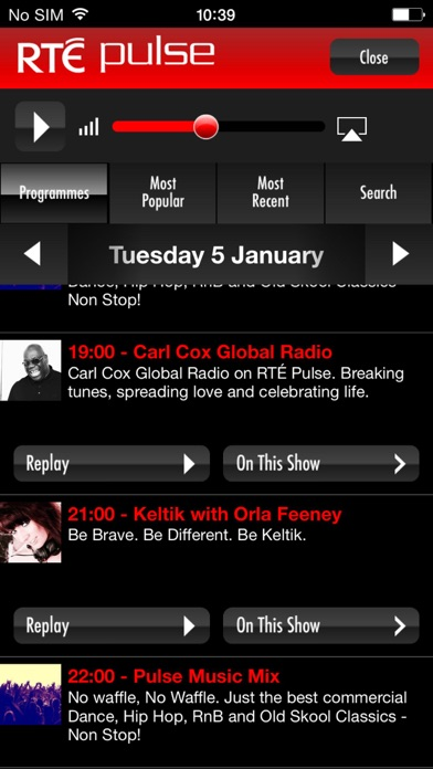 RTÉ Radio Player app download for Android iOs and PC windows