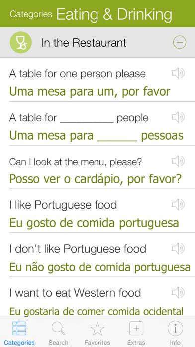 Portuguese Pretati - Speak with Audio Translation screenshot two