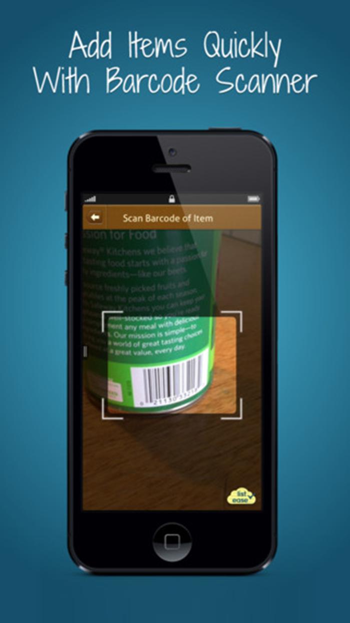 Shopping List Ease - Grocery Screenshot