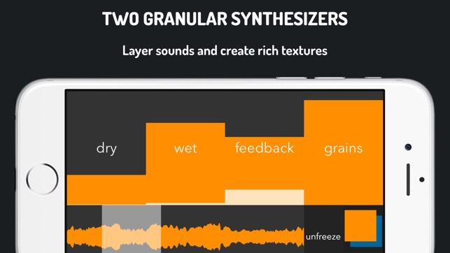 GrainProc: live granular synthesis Screenshot