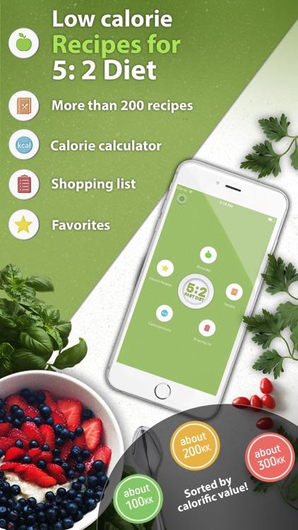 5:2 Fast Diet Low-Calorie Recipes!