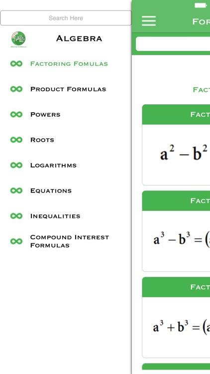 Formula Finder screenshot-3