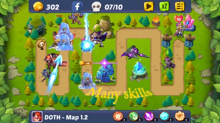 Defense of the Heroes screenshot-3