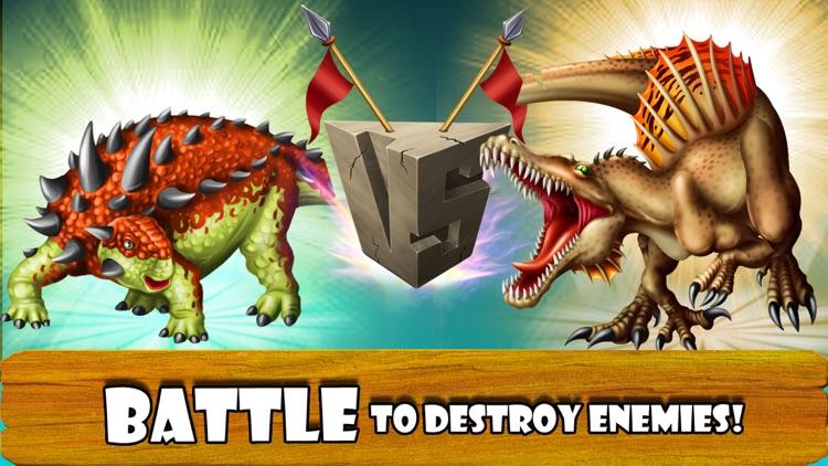 DINO WORLD - Jurassic Dinosaur Fighting games